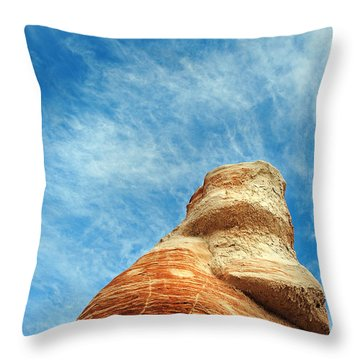 Blue Canyon 65 Throw Pillow