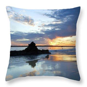 Corona Del Mar Throw Pillow