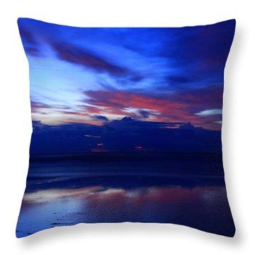 Deep Dawn Ponte Vedra Throw Pillow