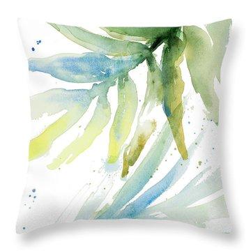 Fronds Throw Pillows