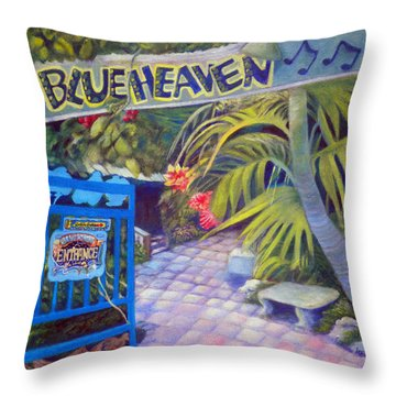 Blue Heaven New View Throw Pillow