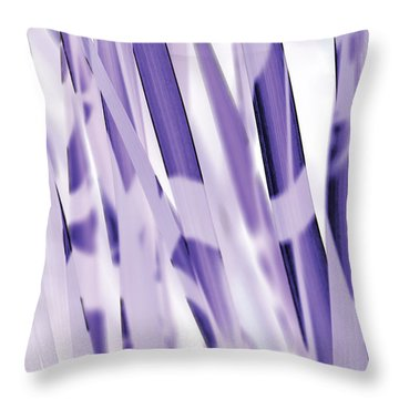 Blue Iris Throw Pillow by Eiwy Ahlund