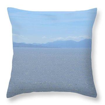 Blue Marseille Throw Pillow