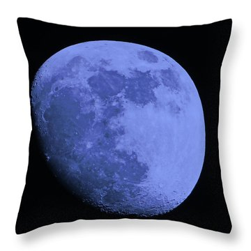 Blue Moon Throw Pillow by Tom Gari Gallery-Three-Photography