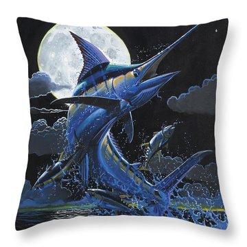Blue Moon Off0069 Throw Pillow