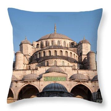Sultan Ahmet Camii Throw Pillows