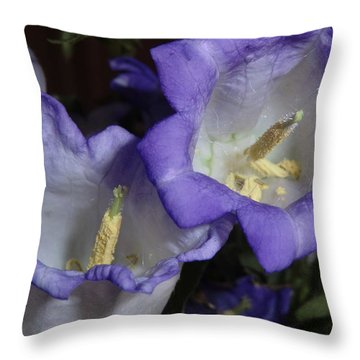 Blue Persuasion Throw Pillow