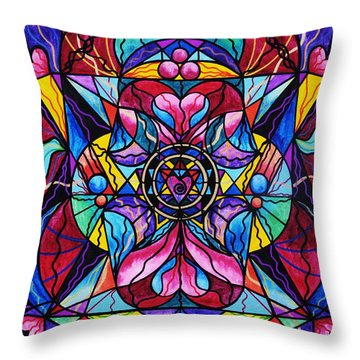 Homeopathic Paintings Throw Pillows