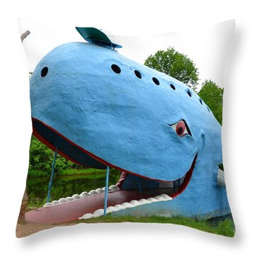 Throw Pillow featuring the photograph Blue by Utopia Concepts