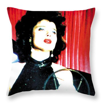 Blue Velvet 2013 Throw Pillow