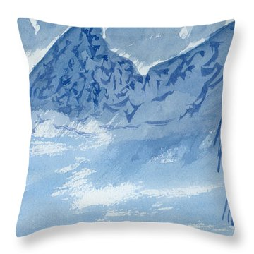 Blue View #2 Throw Pillow