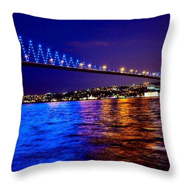 Blue Vs Others Throw Pillow
