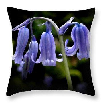 Bluebell Dance Throw Pillow