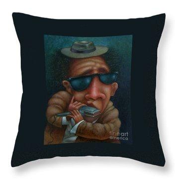 Harps Throw Pillows