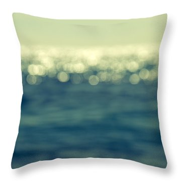 Blurred Light Throw Pillow by Stelios Kleanthous