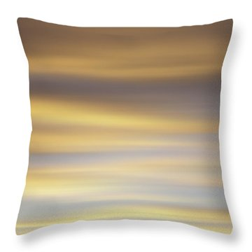 Blurred Sky 1 Throw Pillow