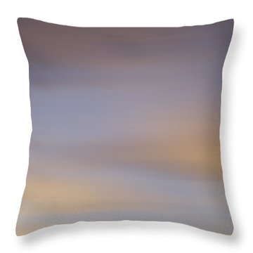 Blurred Sky 2 Throw Pillow