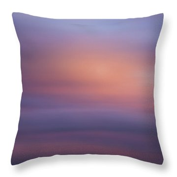 Blurred Sky 4 Throw Pillow