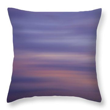Throw Pillow featuring the photograph Blurred Sky 6 by John  Bartosik