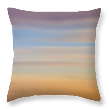 Blurred Sky 8 Throw Pillow