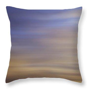 Blurred Sky3 Throw Pillow by John  Bartosik
