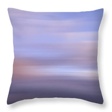 Bluured Sky 5 Throw Pillow