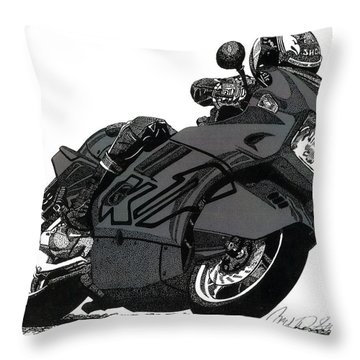 Bmw K1 Throw Pillow