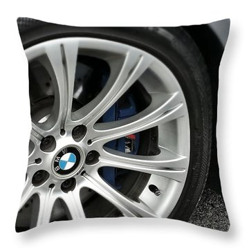B M W M5 Throw Pillow