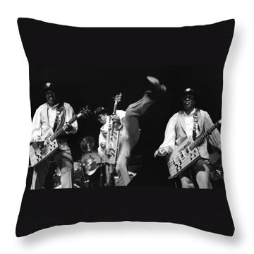 Bo Diddley 3 Throw Pillow