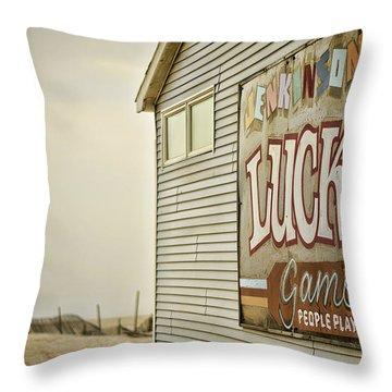 Boardwalk Empire Throw Pillow