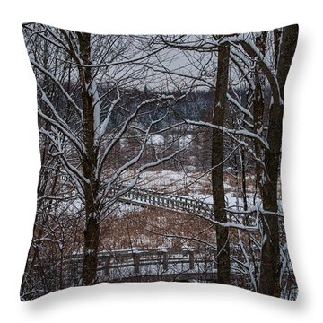 Throw Pillow featuring the photograph Boardwalk Series No3 by Bianca Nadeau