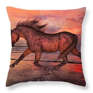 Boasting Beautiful Throw Pillow