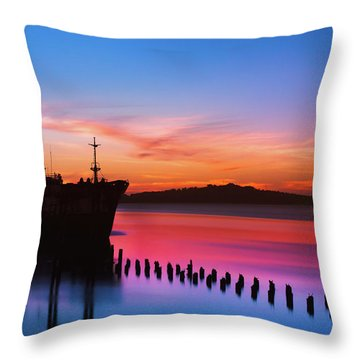 Montevideo Throw Pillows