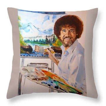 Beat It Throw Pillows