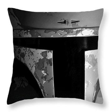 Boba Fett Helmet 29 Throw Pillow