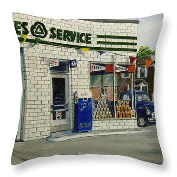 Bob's Throw Pillow