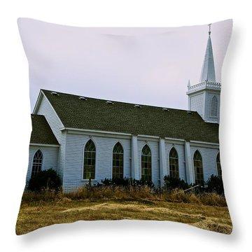 Bodega Church Throw Pillow