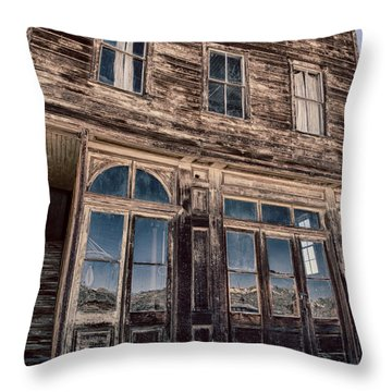 Bodie Throw Pillow by Cat Connor