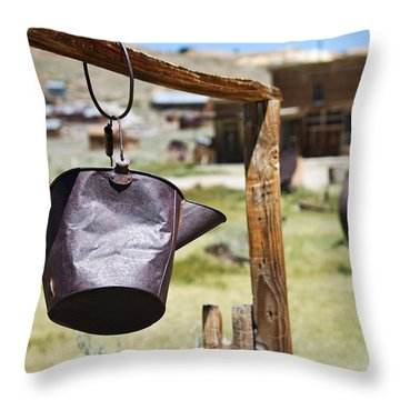 Bodie Ghost Town 2 - Old West Throw Pillow