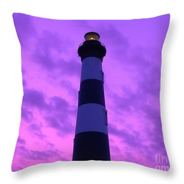 Bodie Beacon Throw Pillow by Al Powell Photography USA