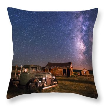 Bodie Nights Throw Pillow