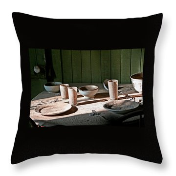 Bodie Place Setting For 2 Throw Pillow