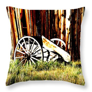 Bodie Wheel Throw Pillow