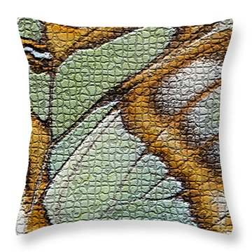 Throw Pillow featuring the photograph Body Art by Vickie Szumigala