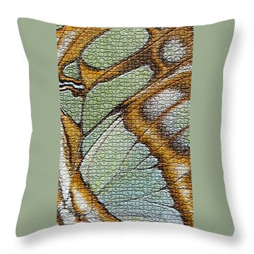 Body Art Throw Pillow