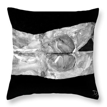 Body At Rest Throw Pillow