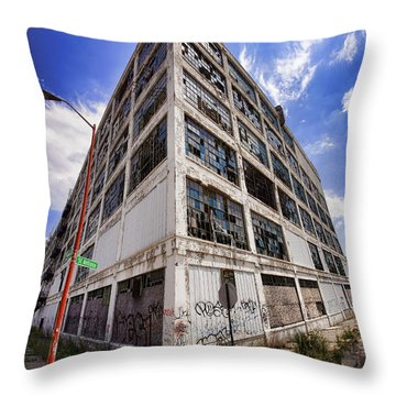 Body By Fisher Throw Pillow by Gordon Dean II
