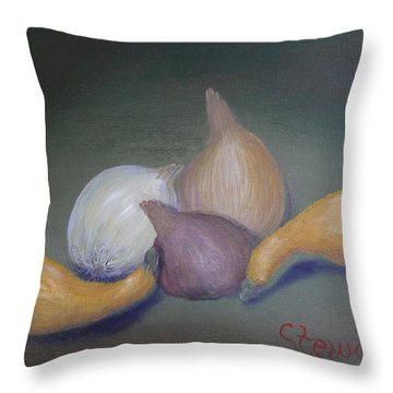 Bodygourds Throw Pillow