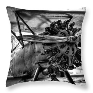 Boeing 100p Fighter II Throw Pillow