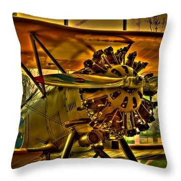 Boeing Model 100 II Throw Pillow